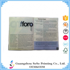 Printing brochure and flyer printing in China
