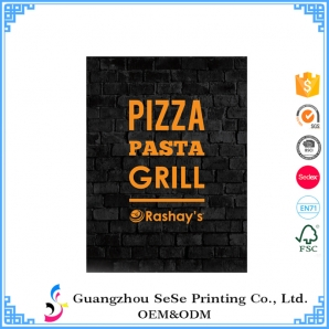 Custom four color professional offset printing Paper poster