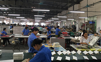 china book printing factory- Hardcover book