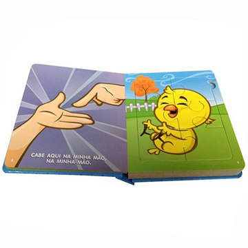 Children Puzzle book Printing
