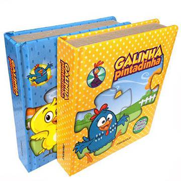 Custom Children Puzzle book Printing (2)
