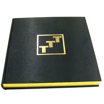 OEM Printing Hot Foil Stamped Hardcover Book