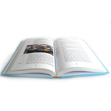 Cheap Hardcover book printing with dust jacket