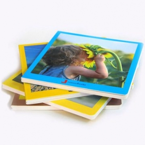 Cardboard Book Children Book-Eco Friendly Full Color