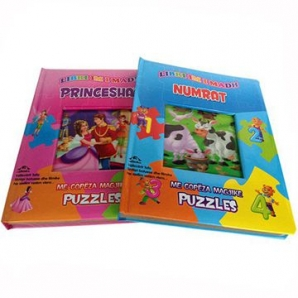 Custom Eco Friendly Education children Puzzle books printing
