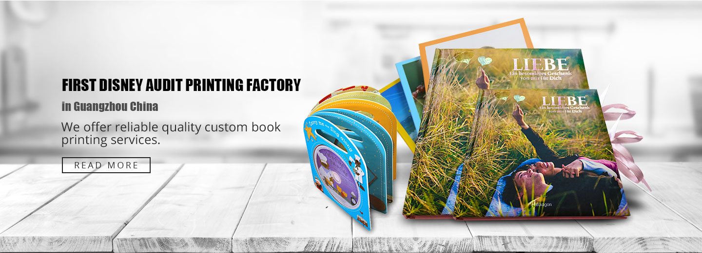 custom hardcover book printing service