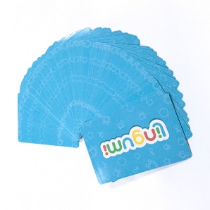 Educational Math Cards Printing Paper Study Flash Cards