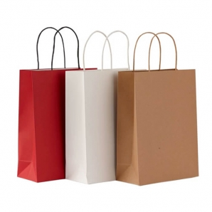 Different size New style personalised paper bags printing