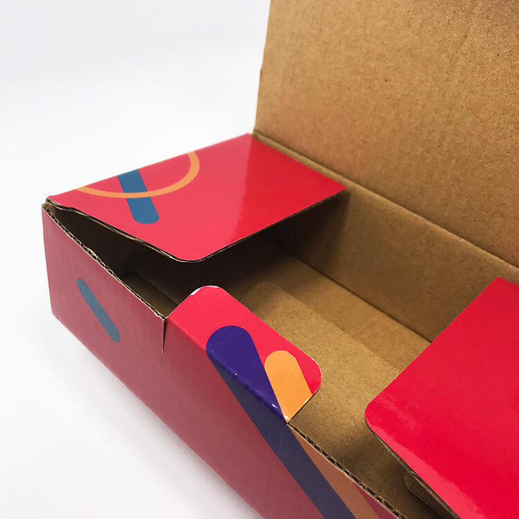 Custom Cosmetic Paper Packaging Color Box (8)
