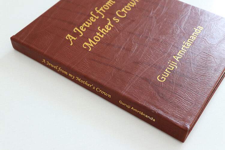 Gold Foil Cover Book - Cheap Leather Book Printing Services oem