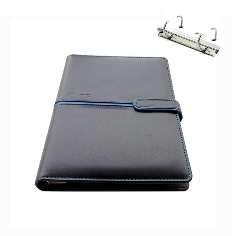 Luxury Leather Bound Journal - Black Leather Executive Journal Notebook