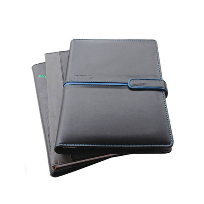 Luxury Leather Bound Journal - Black Leather Executive Journal Notebook 2020 (3)