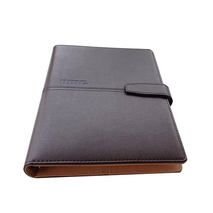 Luxury Leather Bound Journal - Black Leather Executive Journal Notebook 2020 (4)