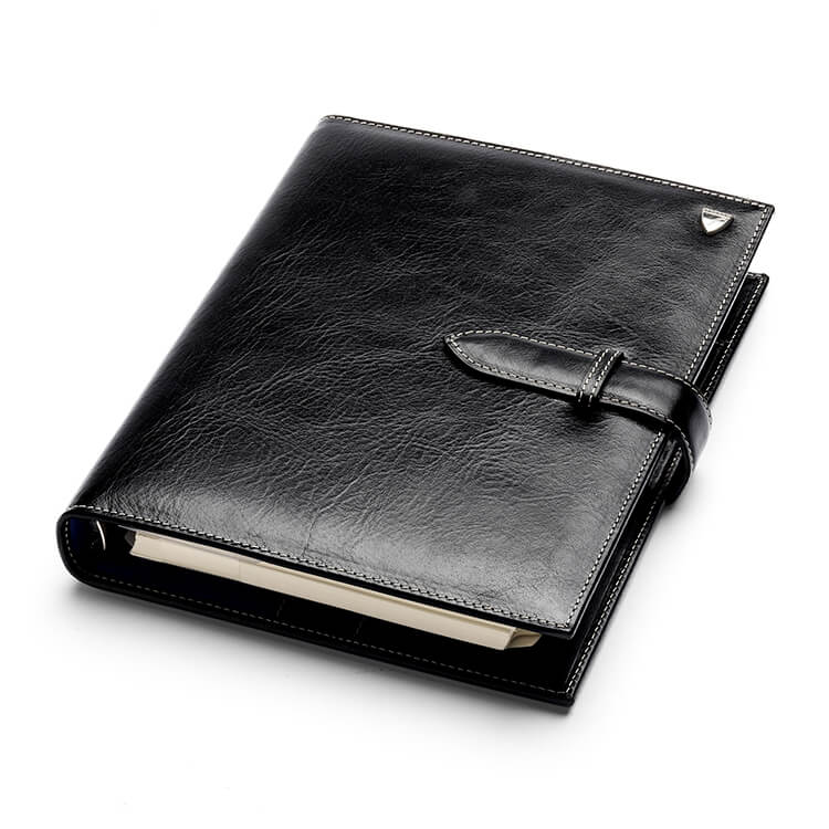 Custom Printing Refillable Leather Journals & Notebooks