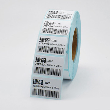 Printing Round Durable Laminated Labels custom